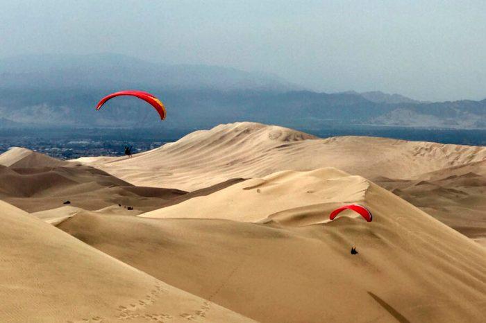 Paragliding en Huacachina